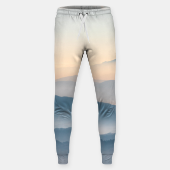 Thumbnail image of Fog layers, hills and mountains Sweatpants, Live Heroes