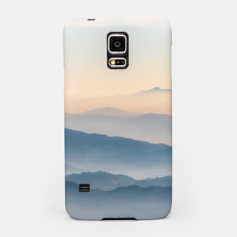 Thumbnail image of Fog layers, hills and mountains Samsung Case, Live Heroes