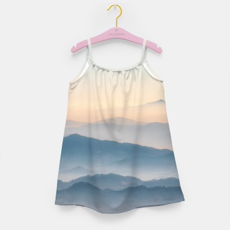 Thumbnail image of Fog layers, hills and mountains Girl's dress, Live Heroes