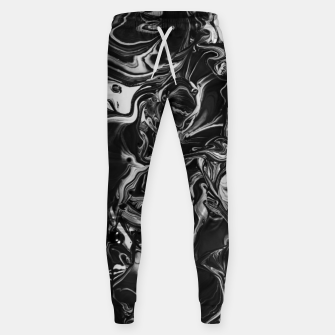 Thumbnail image of black and white abstract art Sweatpants, Live Heroes