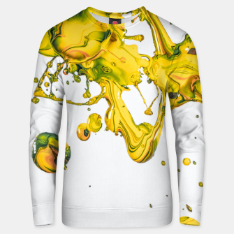 Thumbnail image of splah the joy Unisex sweater, Live Heroes