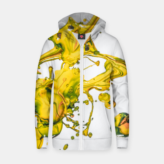 Thumbnail image of splah the joy Zip up hoodie, Live Heroes