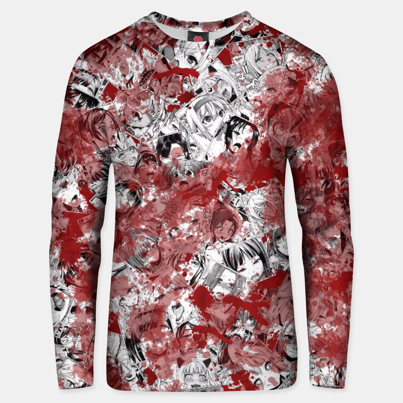 Image of Bloody Ahegao Unisex sweater - Live Heroes
