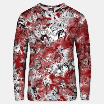 Thumbnail image of Bloody Ahegao Unisex sweater, Live Heroes