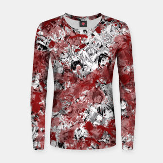 Thumbnail image of Bloody Ahegao Women sweater, Live Heroes
