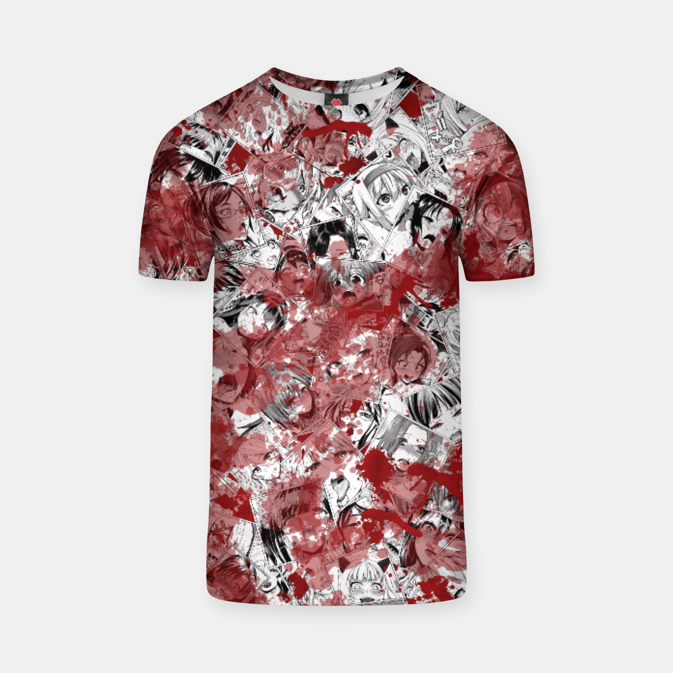 Image of Bloody Ahegao T-shirt - Live Heroes
