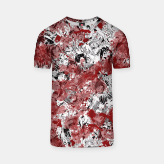 Thumbnail image of Bloody Ahegao T-shirt, Live Heroes