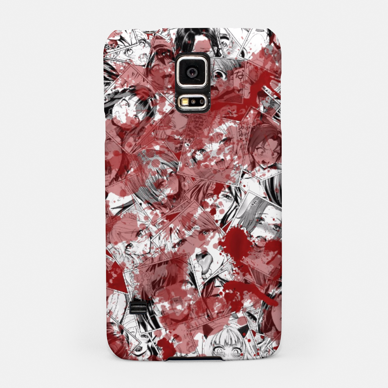 Image of Bloody Ahegao Samsung Case - Live Heroes