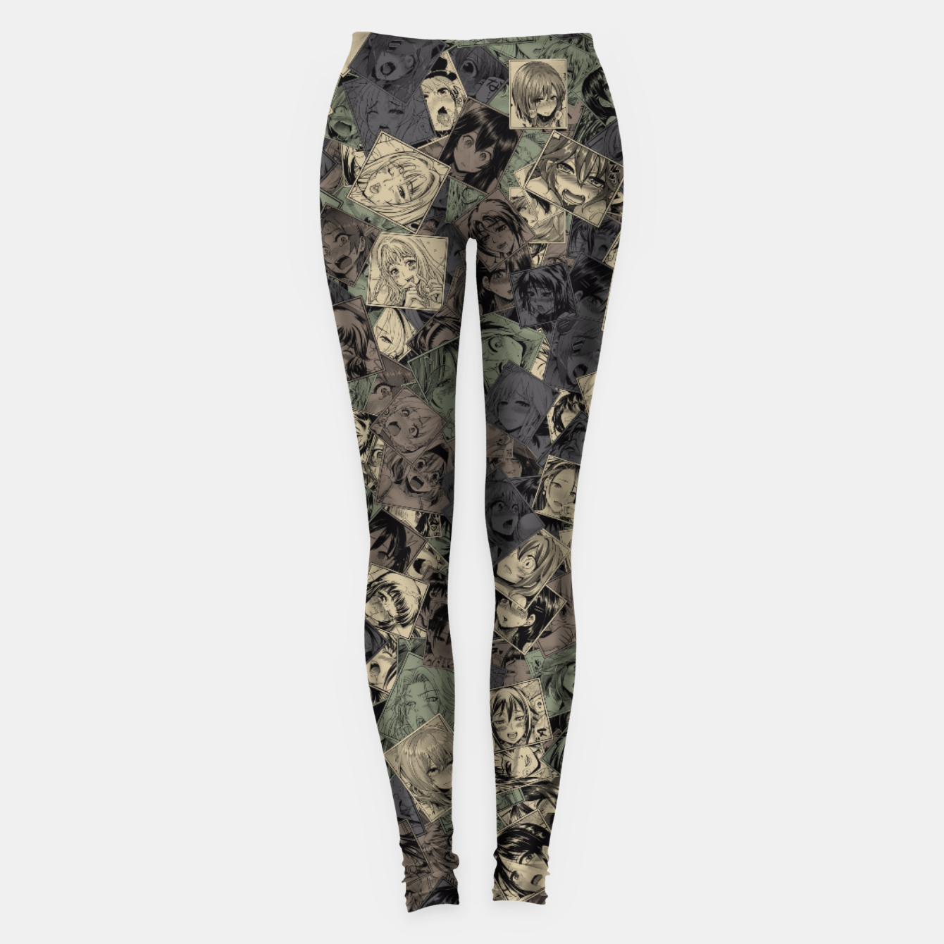 Image of Ahegao camouflage Leggings - Live Heroes