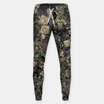 Thumbnail image of Ahegao camouflage Sweatpants, Live Heroes