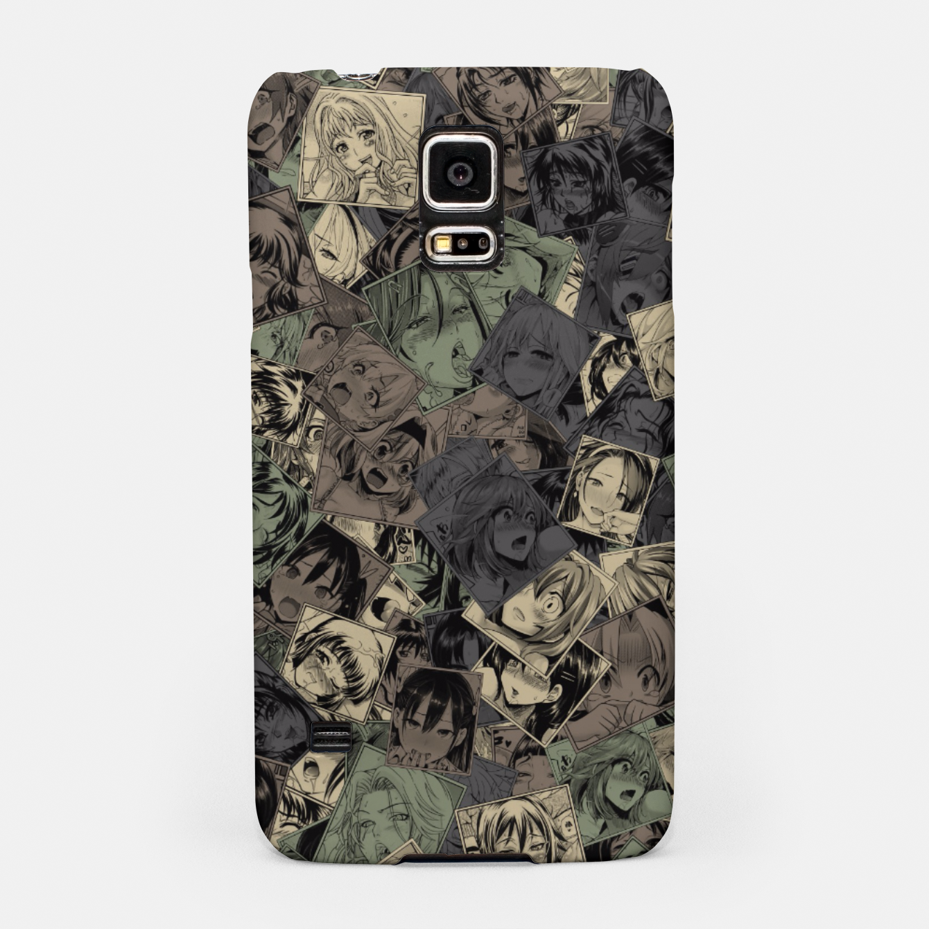 Image of Ahegao camouflage Samsung Case - Live Heroes