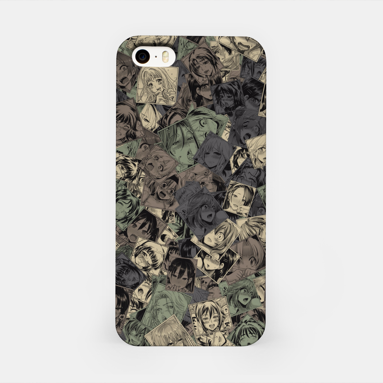 Image of Ahegao camouflage iPhone Case - Live Heroes