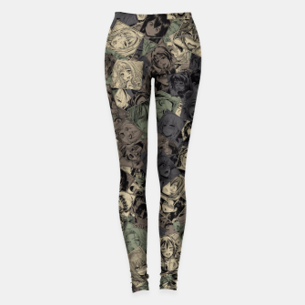 Thumbnail image of Ahegao camouflage Leggings, Live Heroes