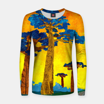 Miniature de image de Big baobabs Women sweater, Live Heroes