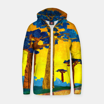 Miniature de image de Big baobabs Zip up hoodie, Live Heroes