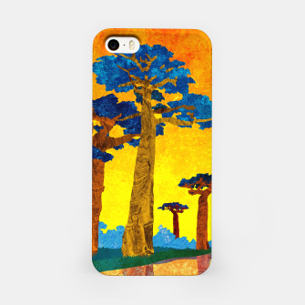 Miniature de image de Big baobabs iPhone Case, Live Heroes