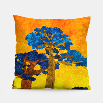Miniature de image de Big baobabs Pillow, Live Heroes