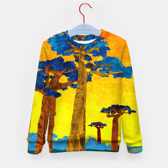 Miniature de image de Big baobabs Kid's sweater, Live Heroes