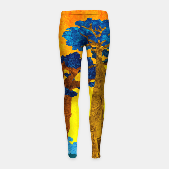 Miniature de image de Big baobabs Girl's leggings, Live Heroes