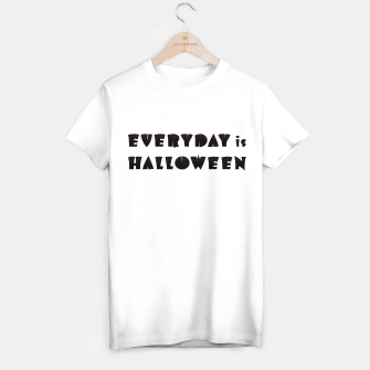 Miniaturka Everyday is Halloween: red howl of the night T-shirt regular, Live Heroes