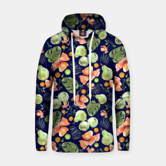 Thumbnail image of Retro Poppy Blue Hoodie, Live Heroes