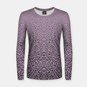 Thumbnail image of Animal print purple gradient MEA  Bluza damska, Live Heroes