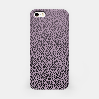 Miniatur Animal print purple gradient MEA  Obudowa iPhone, Live Heroes