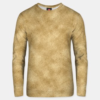 Thumbnail image of Faux Gold Glitter Unisex sweater, Live Heroes