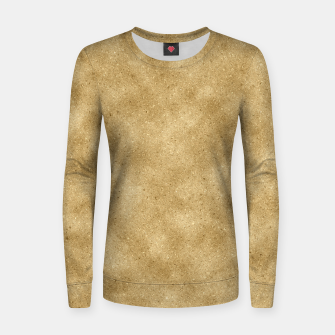 Thumbnail image of Faux Gold Glitter Women sweater, Live Heroes