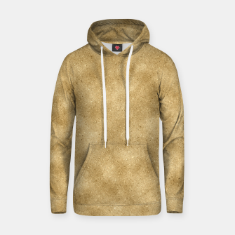 Thumbnail image of Faux Gold Glitter Hoodie, Live Heroes