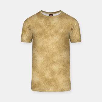 Thumbnail image of Faux Gold Glitter T-shirt, Live Heroes