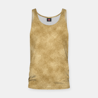 Thumbnail image of Faux Gold Glitter Tank Top, Live Heroes