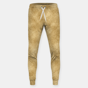 Thumbnail image of Faux Gold Glitter Sweatpants, Live Heroes