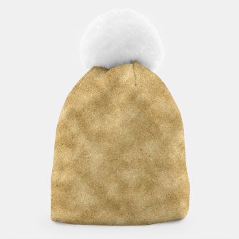 Thumbnail image of Faux Gold Glitter Beanie, Live Heroes