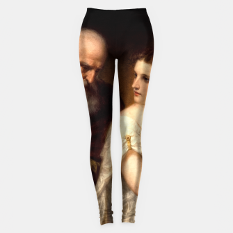 Miniaturka Philosophy and Christian Art by Daniel Huntington Leggings, Live Heroes