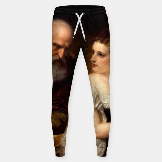 Philosophy and Christian Art by Daniel Huntington Sweatpants obraz miniatury