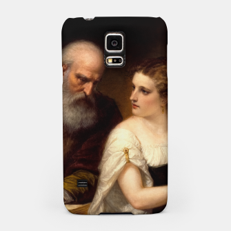 Philosophy and Christian Art by Daniel Huntington Samsung Case obraz miniatury
