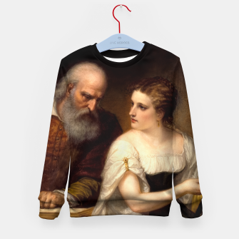 Philosophy and Christian Art by Daniel Huntington Kid's sweater thumbnail image