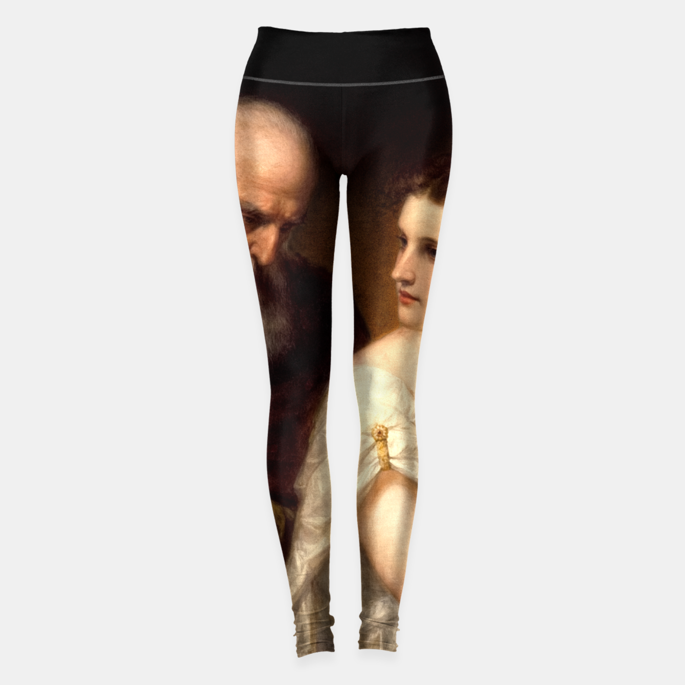 Image of Philosophy and Christian Art by Daniel Huntington Leggings - Live Heroes