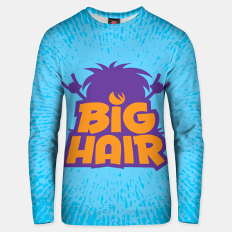 Miniatur Big Hair Band Logo Unisex sweater, Live Heroes