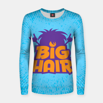 Miniatur Big Hair Band Logo Women sweater, Live Heroes