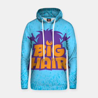 Miniatur Big Hair Band Logo Hoodie, Live Heroes
