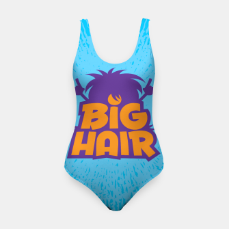 Miniatur Big Hair Band Logo Swimsuit, Live Heroes