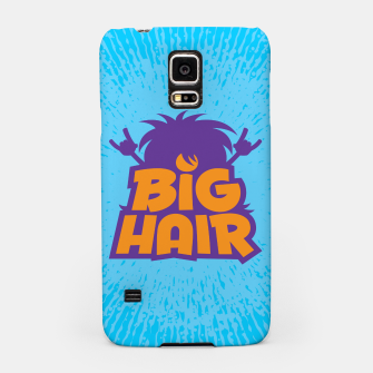 Miniatur Big Hair Band Logo Samsung Case, Live Heroes