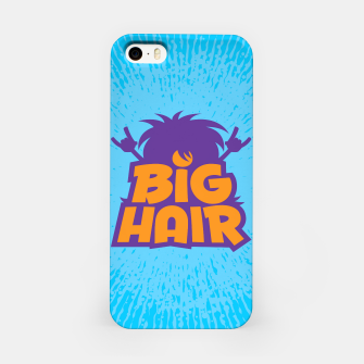 Miniatur Big Hair Band Logo iPhone Case, Live Heroes
