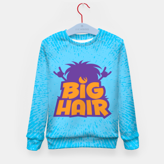 Miniatur Big Hair Band Logo Kid's sweater, Live Heroes