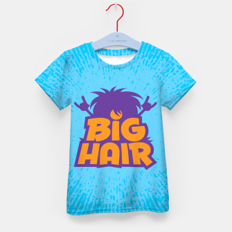 Miniatur Big Hair Band Logo Kid's t-shirt, Live Heroes