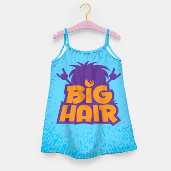 Miniatur Big Hair Band Logo Girl's dress, Live Heroes