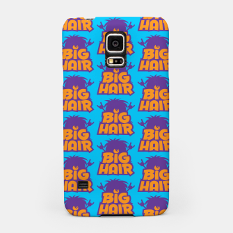 Miniatur Big Hair Band Logo Pattern Samsung Case, Live Heroes