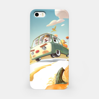 Thumbnail image of Pumpkin Truck iPhone Case, Live Heroes
